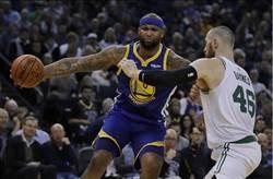 NBA》浪花弟不在 勇士狂輸綠衫軍33分