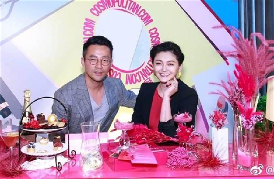 大S和汪小菲8年婚爆危機。(圖/翻攝自微博)