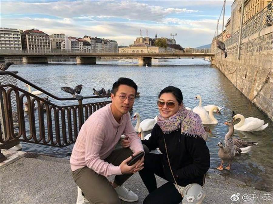 汪小菲和大S結婚8年,不時被傳婚變。(圖/翻攝自微博)