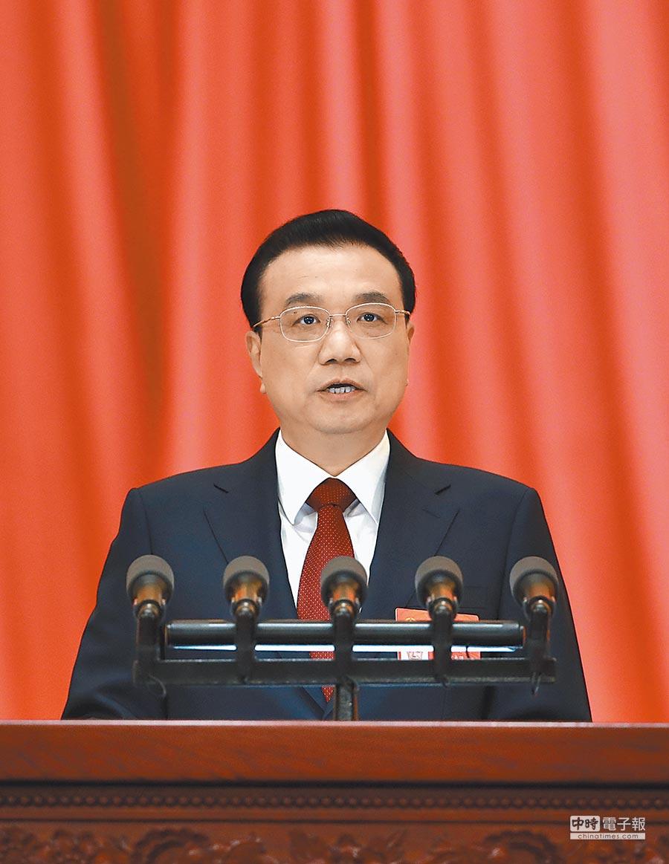 3月5日,大陸全國人大會議在北京開幕。國務院總理李克強作政府工作報告。(新華社)