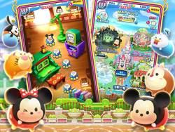 《Disney Tsum Tsum Land》繁中版彈珠手遊 台港澳登場