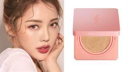 不定妝也不會脫妝!韓系專櫃銷售第一氣墊推「粉紅梨花限定版」