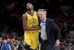 NBA》公然反對科爾 KD出走心態更露骨