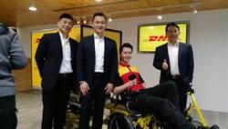 DHL國際快遞在台灣引進亞太區第一台零碳棑Cubicycle運務自行車
