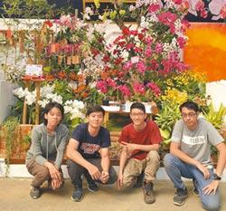 台灣國際蘭展 嘉大斯文在茲獲獎