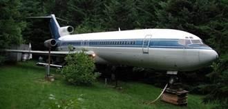 魔改!波音727變森林「豪宅」 他一住就20年