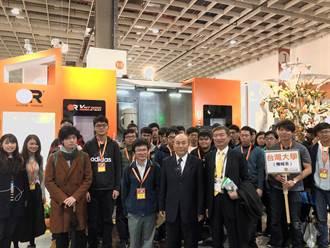 台灣機械工業公會理事長柯拔希攬才 接待台大機械系近百位師生參觀工具機展