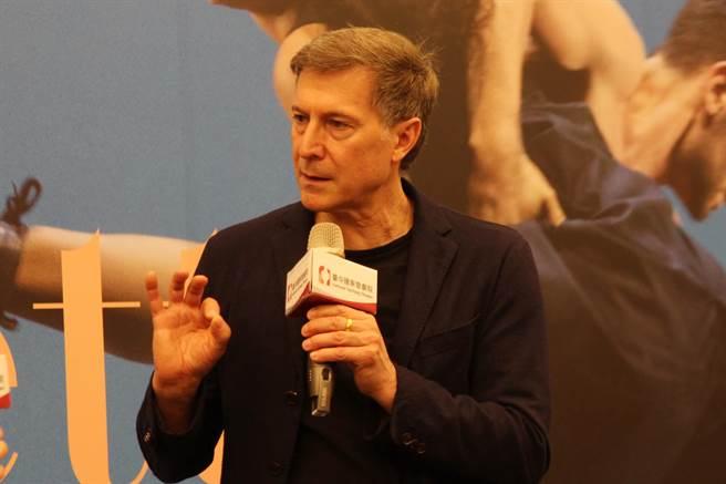 德國萊茵芭蕾舞團藝術總監馬汀.薛雷夫(Martin Schläpfer)率40位舞者,將演出《馬勒第七號》。(陳淑芬攝)