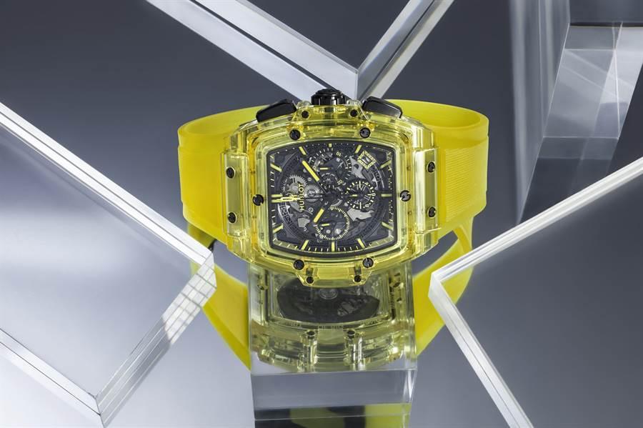 黃色藍寶石計時碼錶(圖/品牌提供)