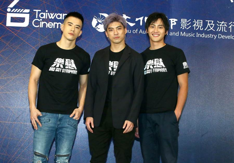 JR(左起)、林哲熹、范少勳都將赴香港參展。(粘耿豪攝)