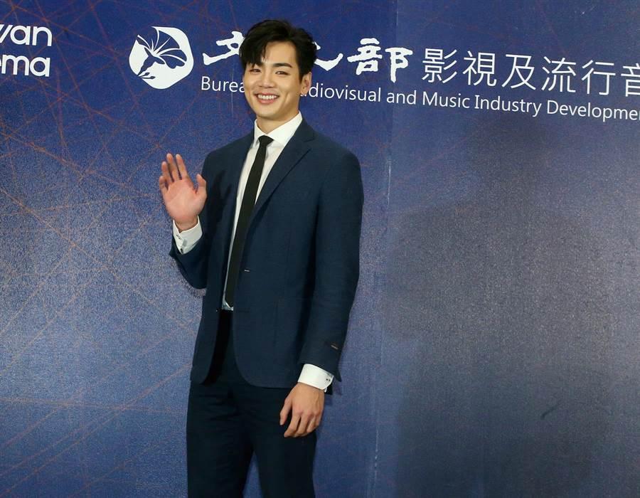 禾浩辰出席香港國際影視展行前記者會。(粘耿豪攝)