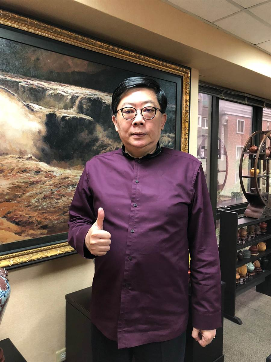 圖說:海灣董事長劉至誠,近年來積極深耕飯店布局。(圖/劉朱松)