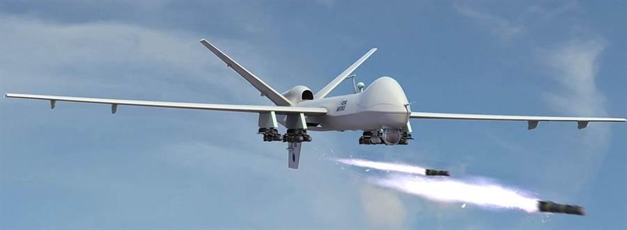 無人機攻擊已成為主要的戰爭工具,雖然小規模的破壞力已縮小平民死亡數,但是仍然難以避免。(圖/通用原子)