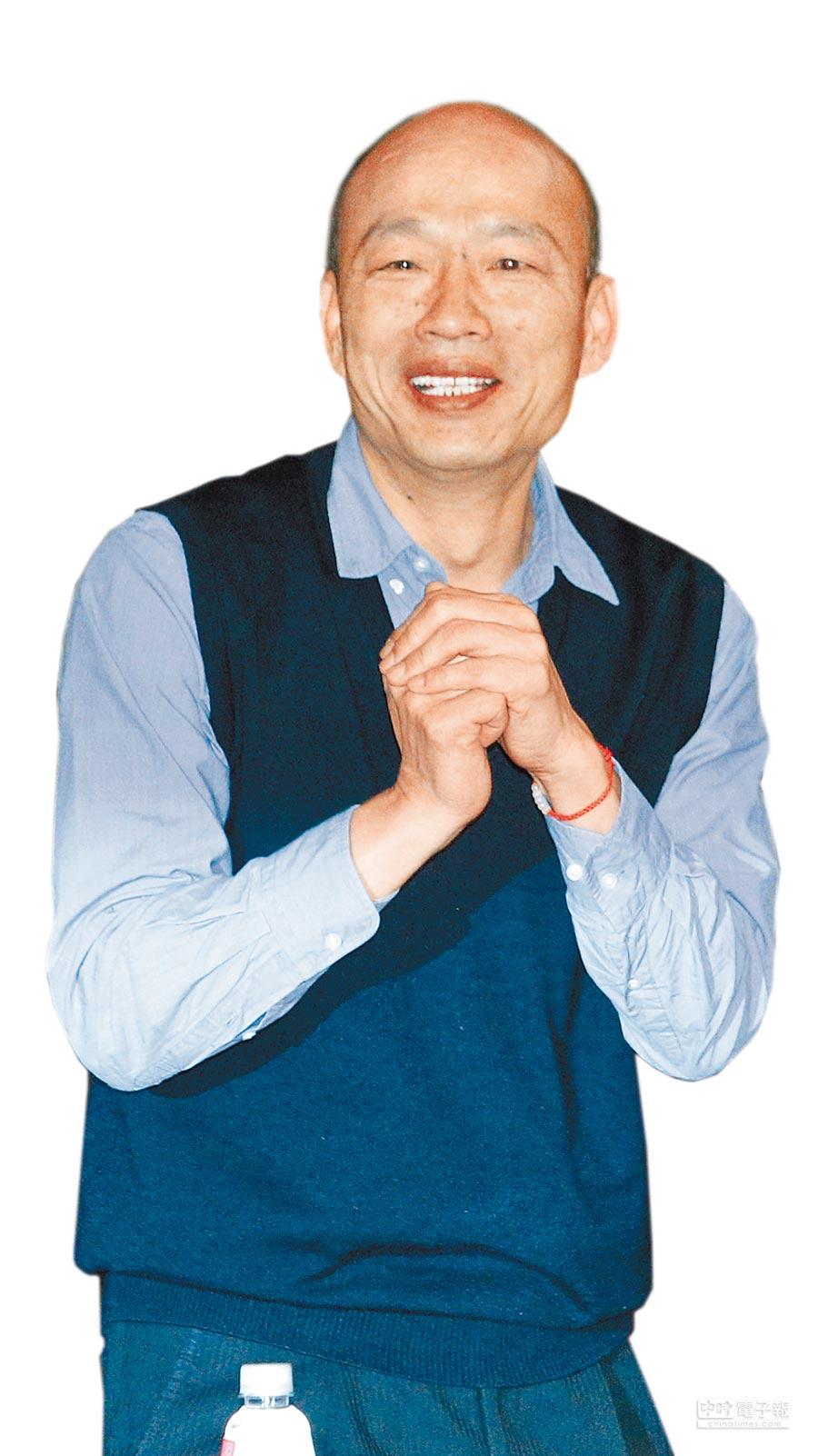高雄市長韓國瑜(黃世麒攝)