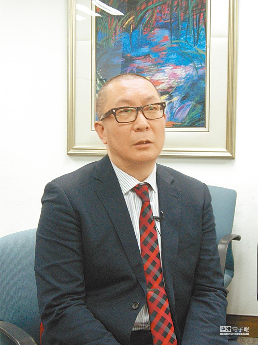 西南證券首席分析師張剛。(本報系記者康彰榮攝)