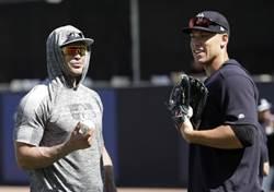 MLB》洋基法官、怪力男 扳手腕誰會贏?