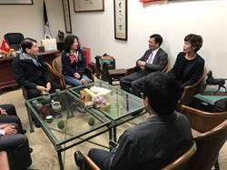 南檢察長拜會立委補選候選人 宣導反賄選