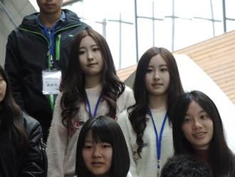 雙胞胎正妹拾穗上清華 新生座談會受矚目