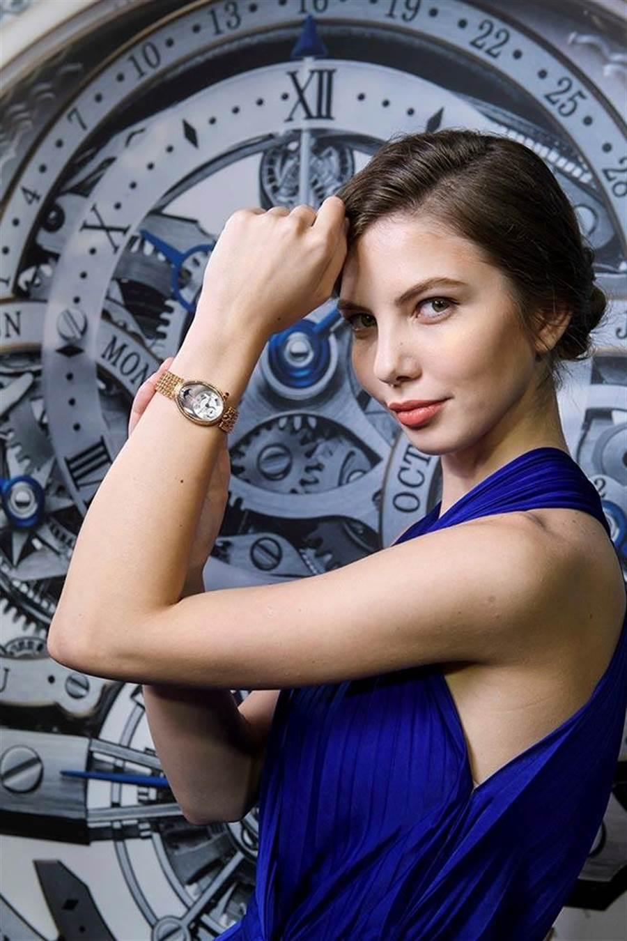 那不勒斯王后系列仕女腕錶將為現代女性襯托優雅經典的氣質。