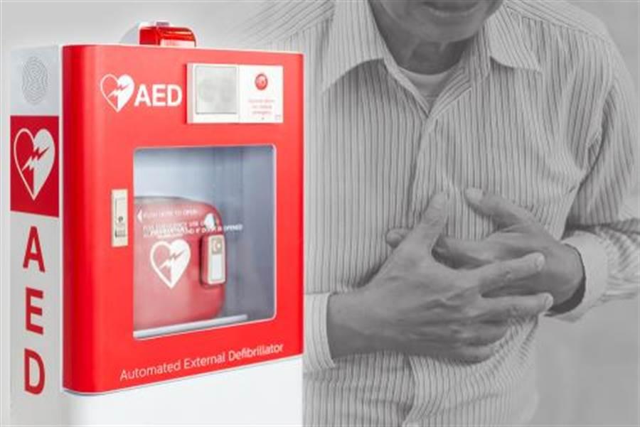 目前政府僅規定健身中心「應設置AED」。(示意圖/shutterstock)