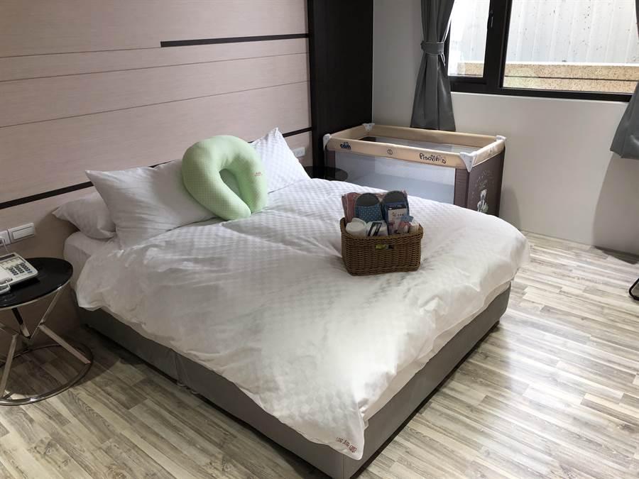 若有大寶也貼心提供大寶床。(蔡依珍攝)