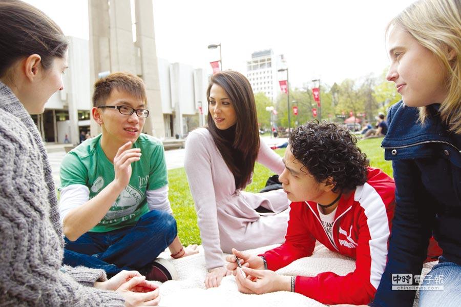天普大學吸引來自127個國家的國際學生。圖/賓州辦事處提供