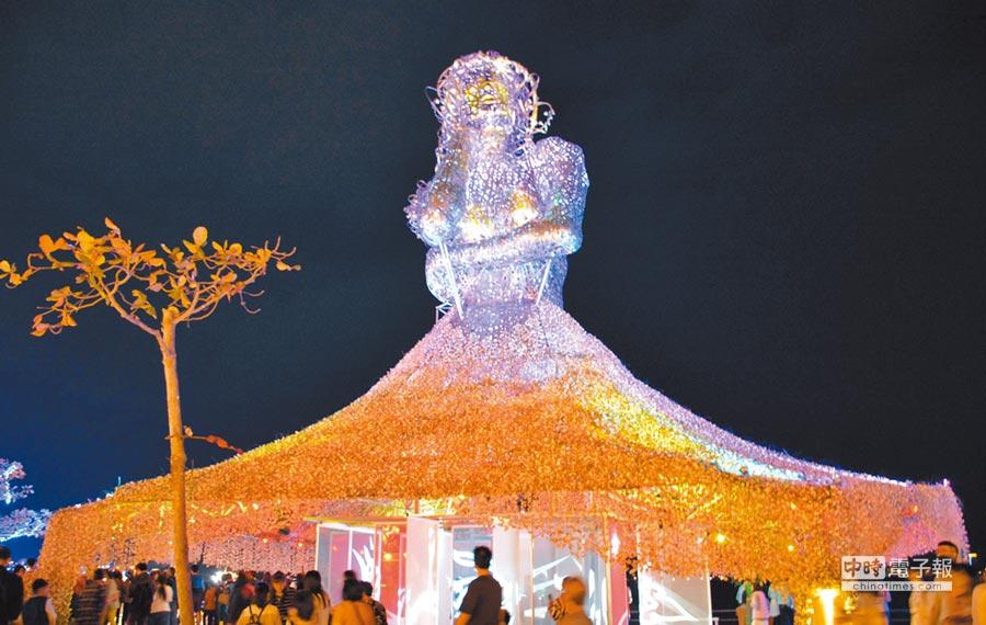 被譽為史上最美的2019台灣燈會,屏東縣長潘孟安鬆口,若有機會將再爭取。(林和生攝)