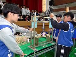 正修辦木橋載重設計賽 上千高中職學生與會
