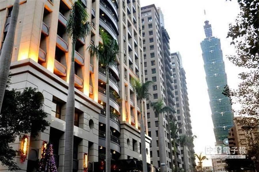 台北的超級富豪逾1500人,居全球第8位。(資料照)