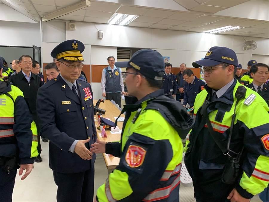 警政署長陳家欽。(資料照片)