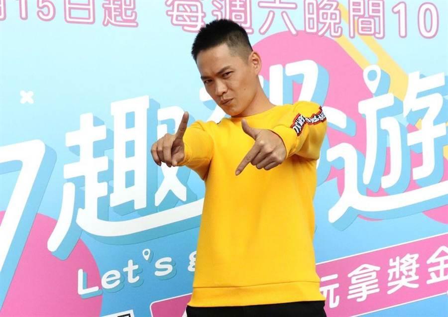 黃鐙輝從綜藝咖變據咖,自嘲是「被諧星耽誤的演員」。