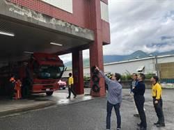消防署長陳文龍視察東部 肯定消防救災救護工作