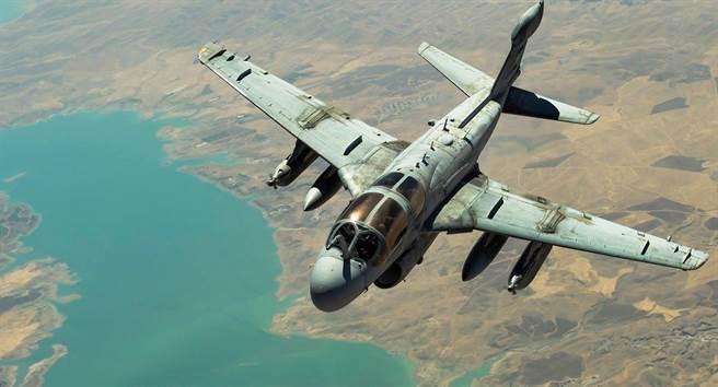 EA-6B要結束它的服役歲月,也是整個A-6家族的步入歷史。(圖/美國陸戰隊)