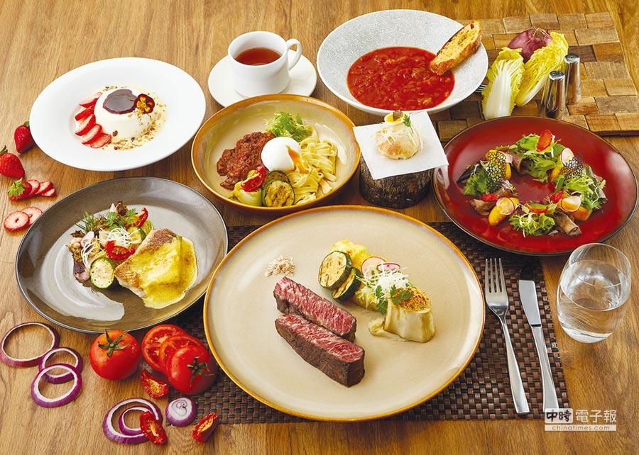慕軒飯店GUSTOSO義大利餐廳推出全牛極致饗宴。圖/業者提供