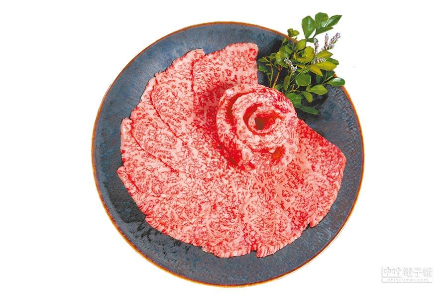「特選赤肉」是旺盛苑和牛燒肉的人氣商品,主廚嚴選的肩胛部位鮮甜潤嫩。(旺盛苑和牛燒肉提供)