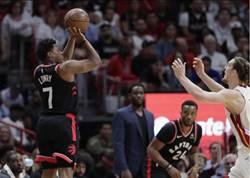 NBA》林書豪11分3籃板 暴龍擊潰熱火進季後賽