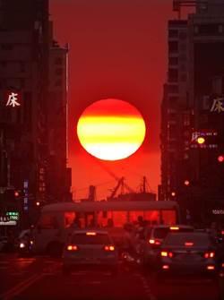 氣象局首推懸日預報  周三嘉義市傍晚可看到