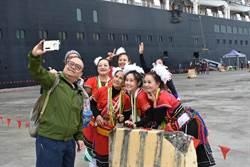 影》花蓮港喜迎今年首艘郵輪 遊覽車怨「韓流」吸走遊客