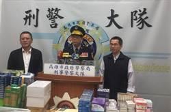 高市警溯源破獲製毒廠 起出安毒30公斤