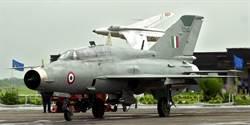 被擊落的還不夠 印度空軍加碼自摔一架米格21