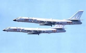 中共海軍新版轟6J亮相 護南海反航母利器