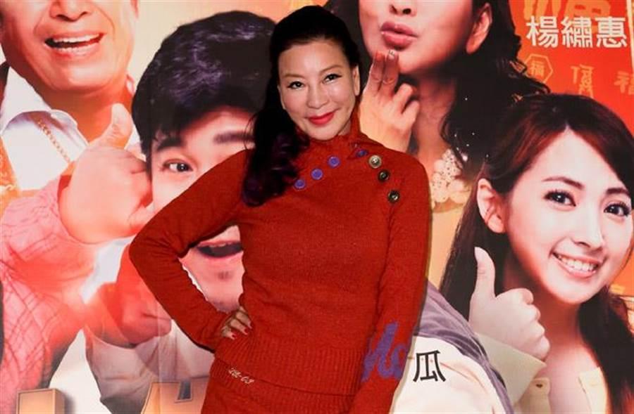 楊繡惠遇女性狂粉,對方竟說要為她割腕,讓她嚇壞!(中時資料照片)