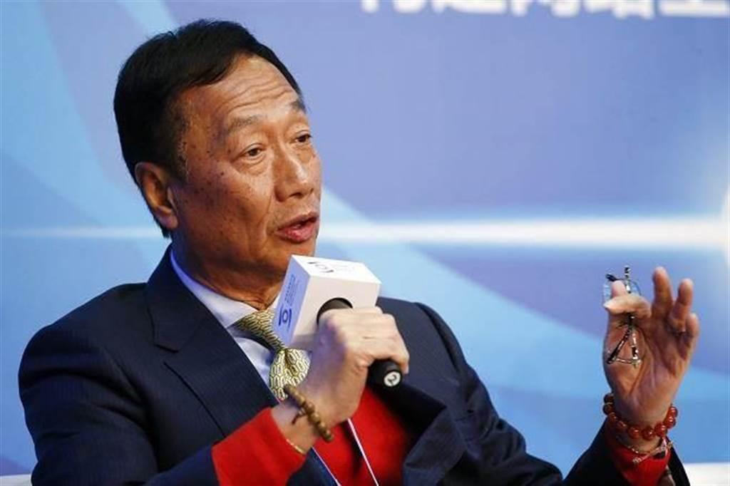鴻海集團董事長郭台銘。(中新社資料照片)