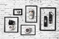 星巴克21周年紀念商品,黑白風幽默上市