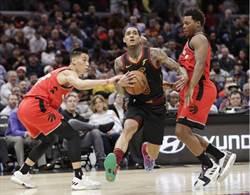 NBA》暴龍客場狂輸騎士 林書豪8分2助攻