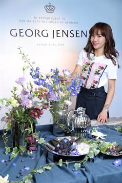陳艾琳秀花藝  詮釋喬治傑生北歐時尚