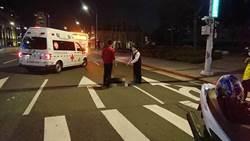 影》北市重庆北路车祸 妇人遭公车爆头亡