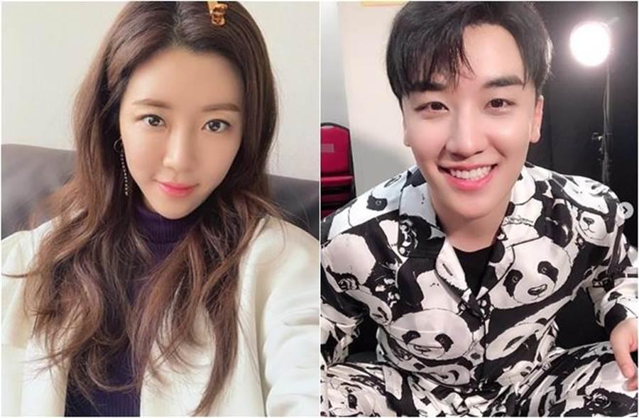 朴韓星和老公性愛片驚傳出現在勝利聊天群組。(圖/翻攝自onestar_p、seungriseyo IG)