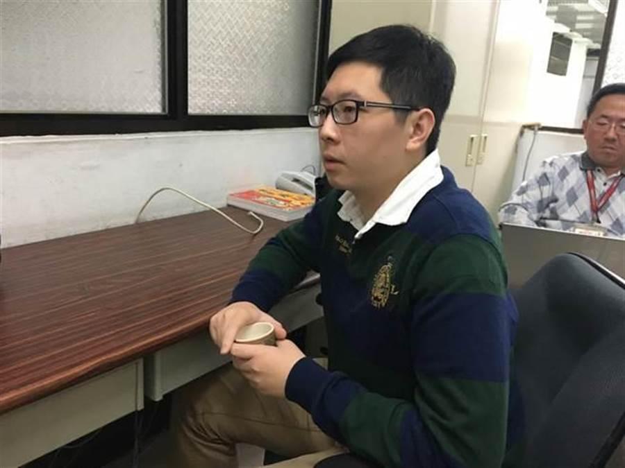 桃園市議員王浩宇。(中時資料照)