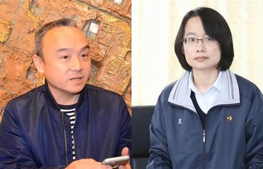 潘恒旭失言風波不斷,老闆韓國瑜還要幫他善後,網友對潘恒旭不滿,認為他比吳音寧還糟。(圖/中時資料照合成)